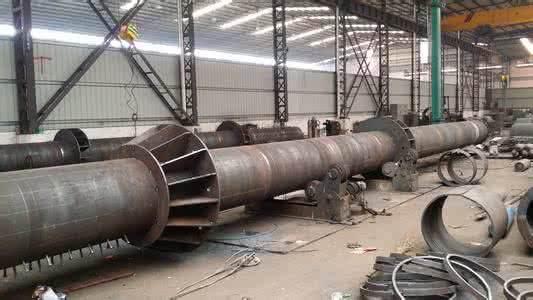 四川鸿鑫钢 钢结构钢管柱钢支撑