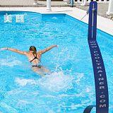 成都美麒科技无边际游泳训练器带你体验大海冲浪的感觉;