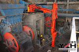 山东元征行生产矿山机械搬运手壁挂固定式液压碎石机;