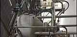 仓泵流化气法兰带连接头;
