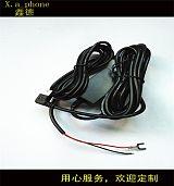 行车记录仪降压线车载电子狗点烟器12V转5V2A电源线汽车影音线;