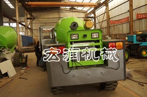 0.8方装载机式混凝土搅拌车 装载式混凝土搅拌车厂家直销