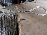 应电力钢丝绳防扭钢丝绳15MM无扭网套绳牵引绳防扭电缆绳;