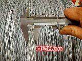 生產張力放線編織鋼絲繩13 15 18MM防打轉鋼絲繩電力牽引繩