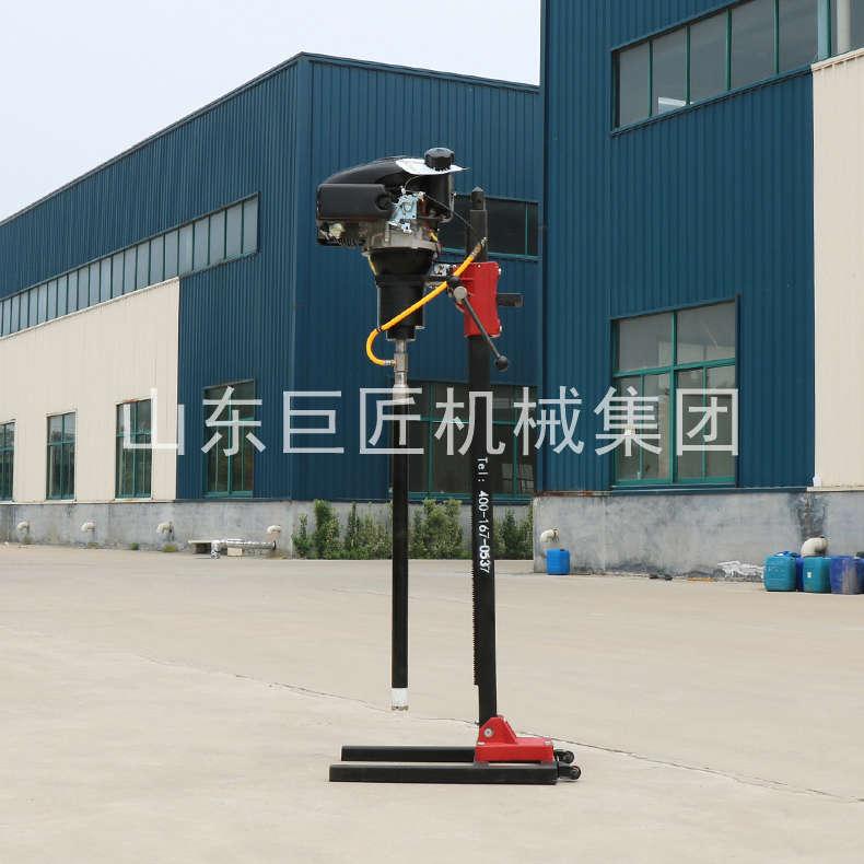 巨匠集团立架式背包钻机 结构稳定的小型地勘钻机