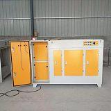 光氧等离子一体机uv光氧废气处理设备设备厂家直销;
