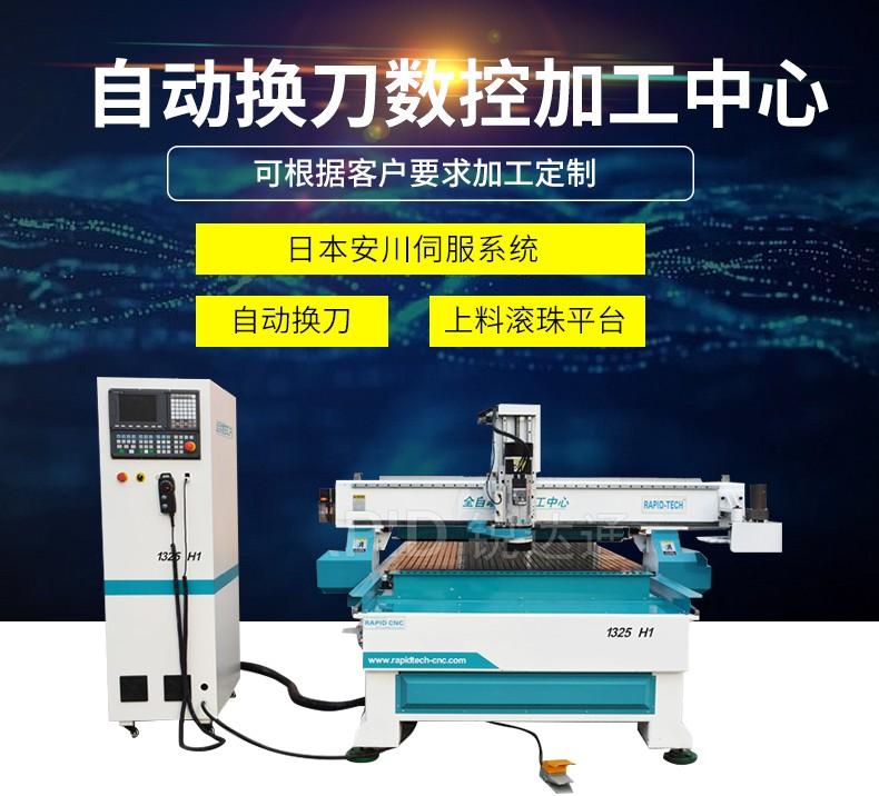 板式家具生产线自动换刀加工中心木工开料机上下料数控设备