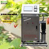 大棚水肥一體化設備 高溫不變形霧化降溫農業灌溉不鏽鋼施肥機圖;