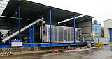 电镀园区网带式连续低温漆渣污泥干化设备;