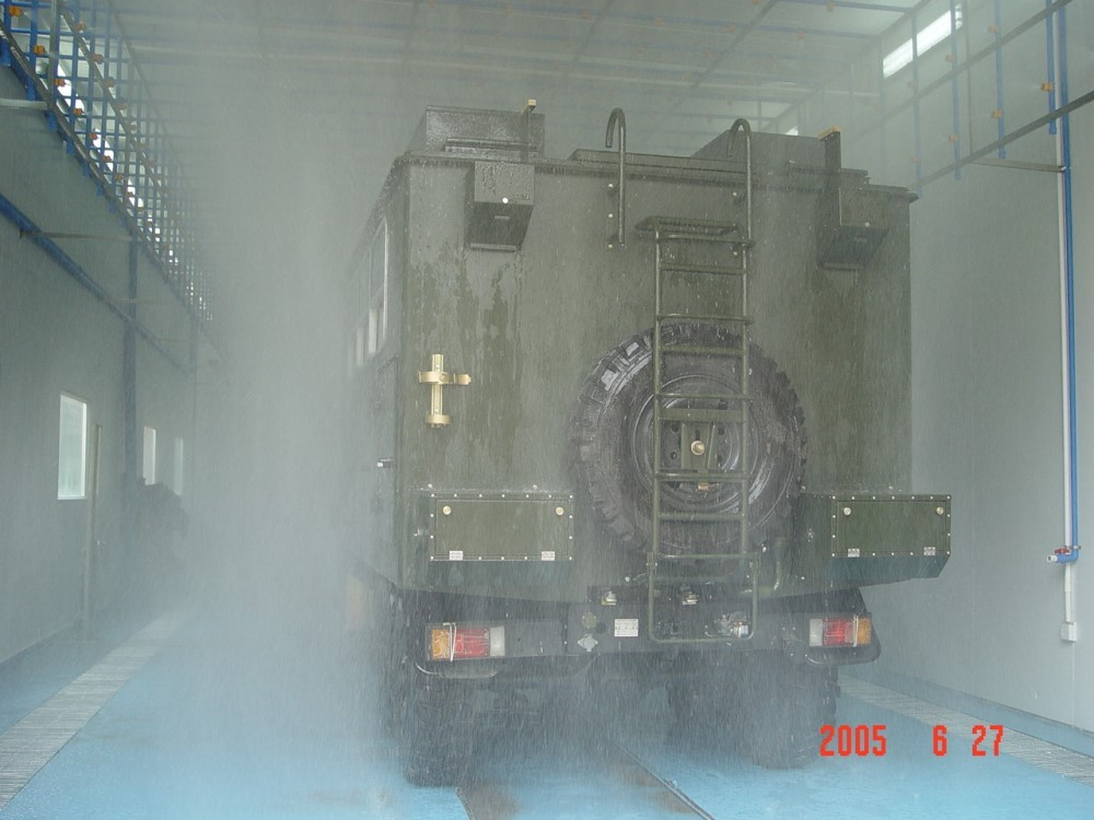 西安 塞纳 带风源淋雨 军标淋雨 整车淋雨 淋雨