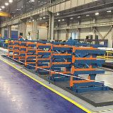 管材伸缩式悬臂货架;
