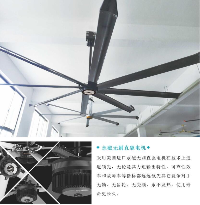 广东厂房通风降温工业大风扇价格