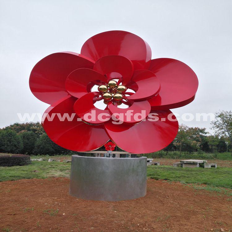 武汉不锈钢雕塑公司、景区不锈钢雕塑、园林景观雕塑定制