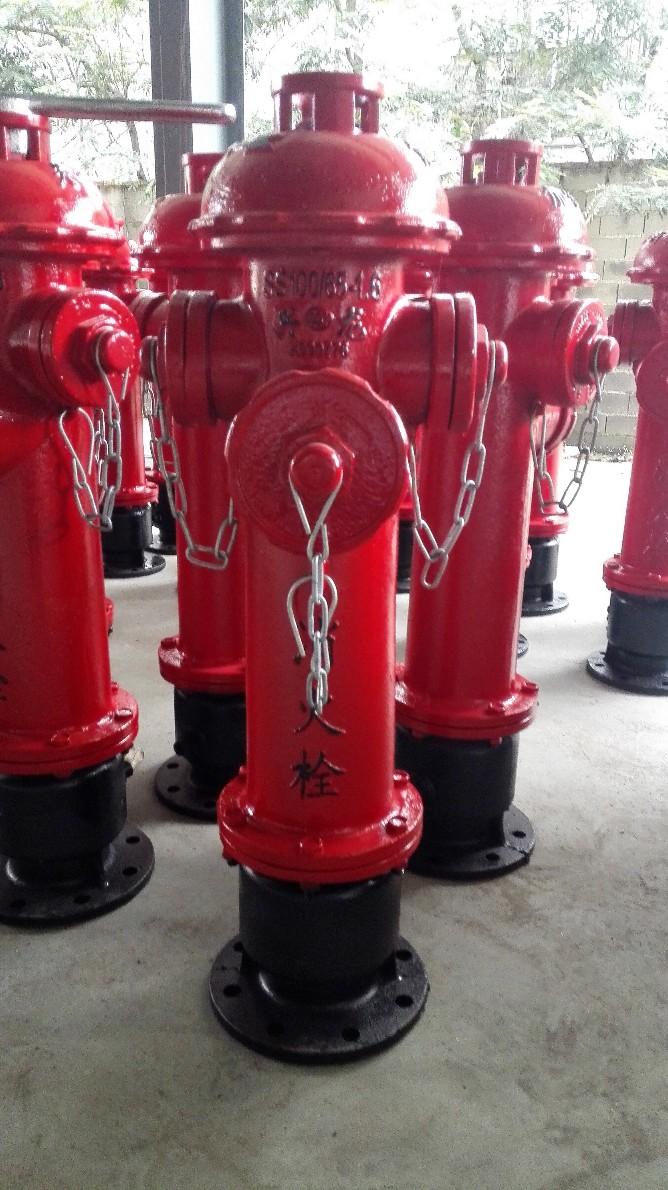 防盗加密地上栓 加密型消火栓