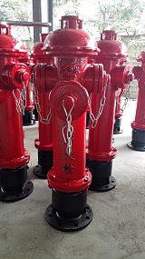 防盜加密地上栓 加密型消火栓
