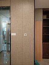2.4米实木平板门 衣柜平板门不开裂不变形;