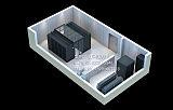 模块化机房效果图制作_机房整体工程解决方案效果图;