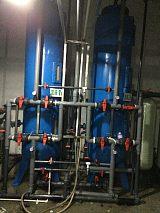 12吨/小时混床系统 反渗透混床水处理系统 离子交换树脂混床系统;