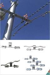 山东海虹4D-20防振锤 带护线条防振金具;
