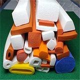 硅膠發泡(海綿)方型密封條 硅膠圓形密封條 耐高溫硅橡膠密封條;