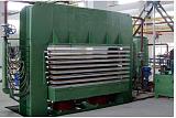 热压机厂家 三聚氰胺热压机 双面贴热压机 山东临沂;