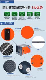 深圳市大风量油烟净化器;