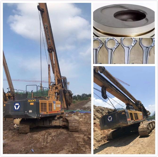 钻机活塞装配要点有哪些?活塞装配质量影响旋挖机发动机性能?