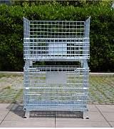 济南建华仓储设备+料箱~仓储笼+优先储存货物;
