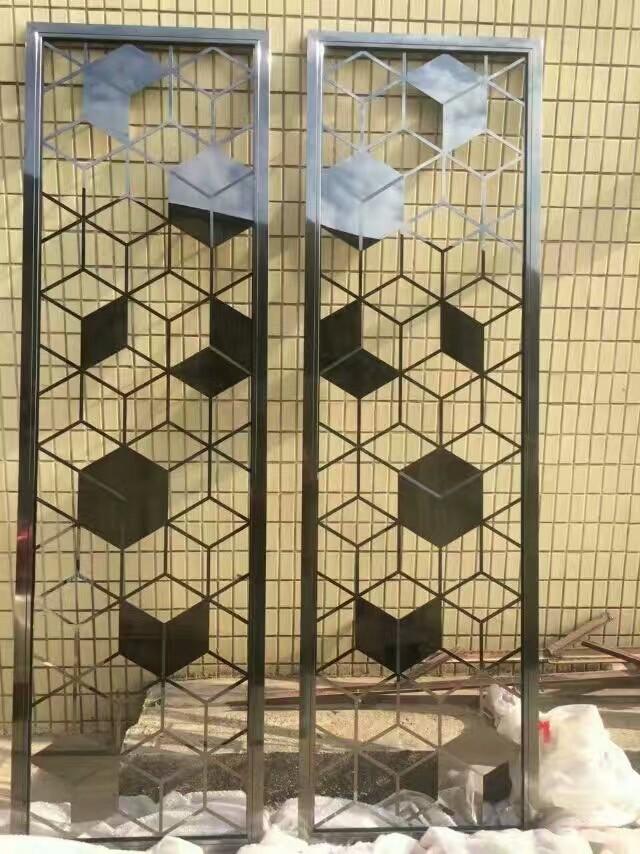 壹嘉壹佛山不锈钢生产厂家 不锈钢造型屏风 专属定制 可包 可定制