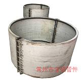 供應2018焊接式不鏽鋼哈夫節DN710不鏽鋼搶修節堵漏器;