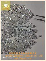 圆形6.0白色锆石 梧州宏旺宝石厂家批发首饰饰品裸石配件;