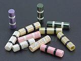 深圳黛石陶瓷绳头 吊钟生产厂家 圆形光滑品质 卫衣辅料