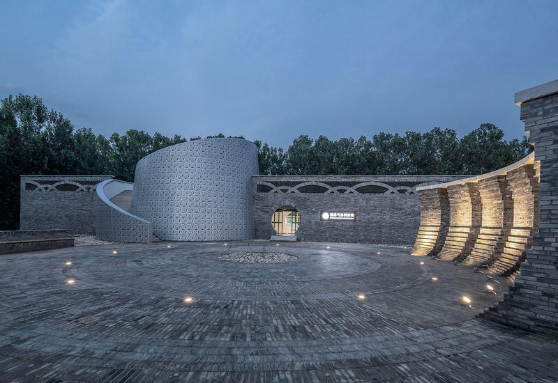 河北魏县气象检测局科技展览馆规划设计创意方案