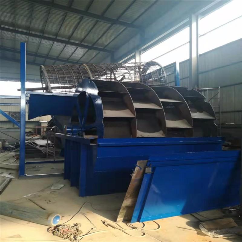 廣東大型石粉洗砂生產線報價 青州洗砂機廠家直銷