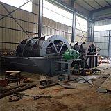 福建水洗砂设备厂家现货 定制轮斗式洗砂机报价;