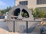 供应轮式洗沙机 海沙淡化设备建亚重工质量材质上乘;