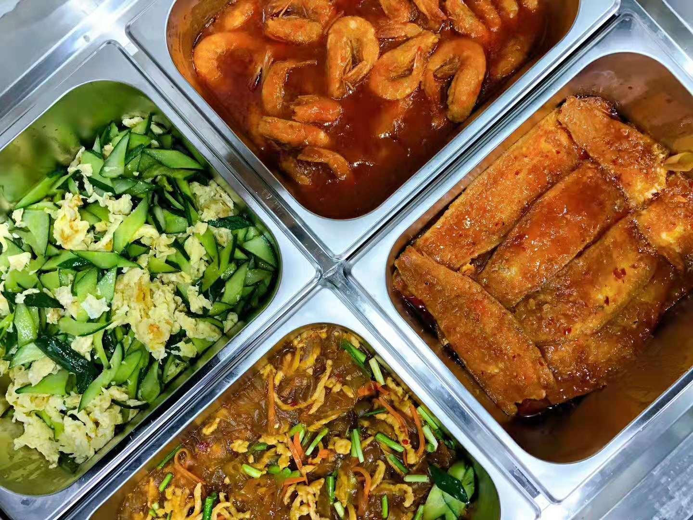 天津东丽空港配餐配送员工餐盒饭业务