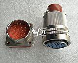 19芯對接式真空密封電連接器;