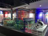 大型火力發電廠沙盤布局模型;