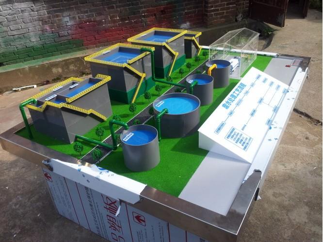 房屋污水處理廠沙盤模型