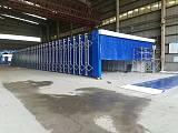 移动式伸缩房结构组成 浙江环保设备厂家;