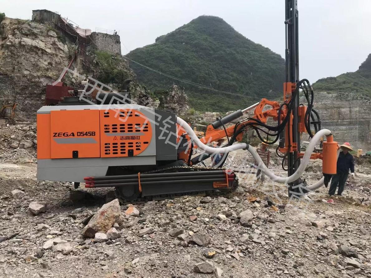 供应广西湖南江西一体钻机浙江志高钻机ZEGA D545露天石场工程