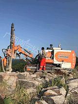 供应广西湖南江西一体钻机浙江志高钻机ZEGA D545露天石场工程;