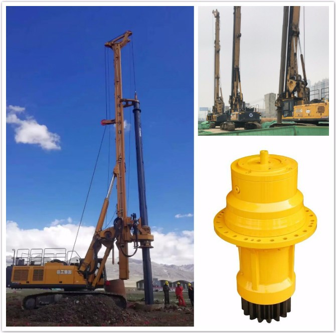 旋挖动力头如何维护检修?钻机减速机怎么装配?