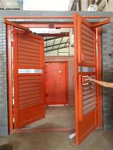 太原百葉窗平衡風門,百葉式調節風門的構造設計;