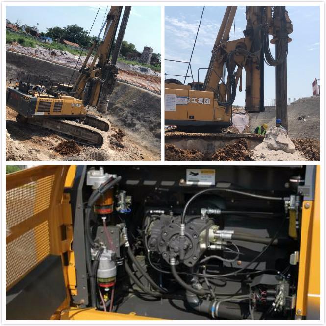 如何预防旋挖机液压系统泄漏故障?怎么处理钻机系统泄漏?