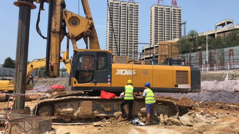 青兰高速桩基建设有哪些钻机助力?旋挖机施工效率怎样?