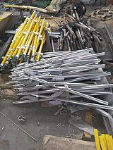 铝合金折叠蜈蚣梯FACL6-6铝合金独角梯可拆卸可折叠柱式梯子;