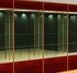 拉薩鈦合金展柜和西藏化妝品展柜