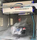 杭州科万德海皇全自动洗车机语音播报电脑智能高泡精洗水蜡风干;